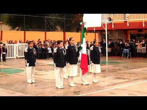 cambio de bandera (primaria centenario del himno nacional mexicano)-1/3