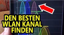 WLAN Probleme? Das Signal verbessern durch den besten WLAN Kanal mit Wifi Analyzer Deutsch