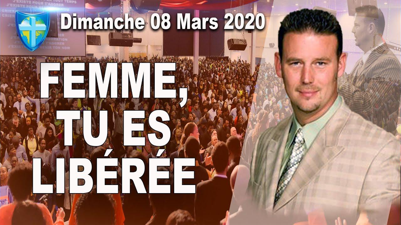 CULTE DIMANCHE 08 MARS 2020