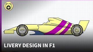 F1 Livery Design - Chain Bear explains