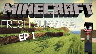 Minecraft - Fresh Survival Епизод 1
