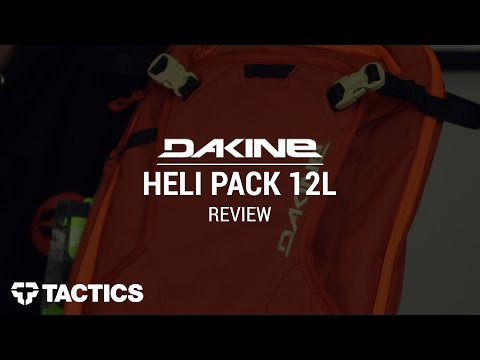 DAKINE Heli Pack 12L Snowboard Backpack Review - Tactics.com