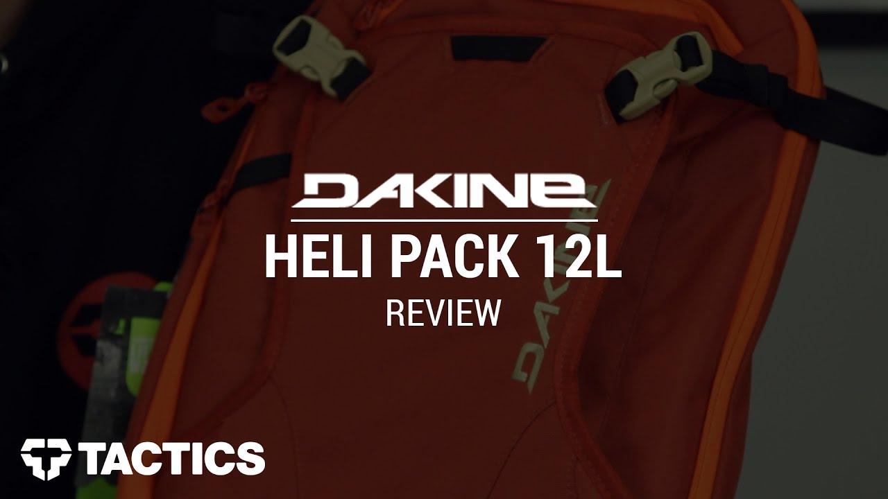 dakine heli pack 12l how to use
