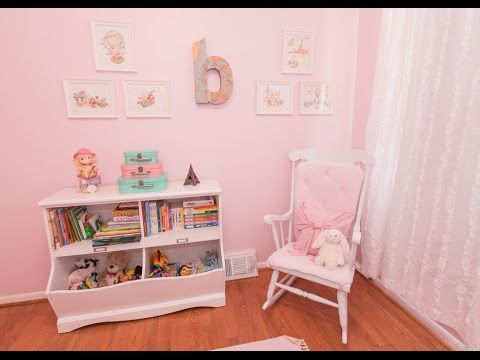 rocking chair for nursery pink salon styling white youtube