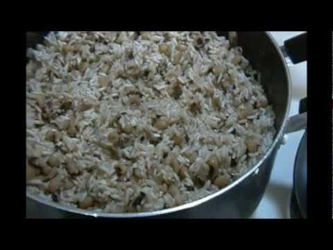 Belizean Black Eyed Rice and Peas
