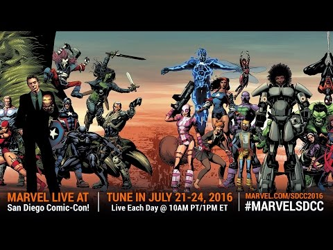 Marvel LIVE! at San Diego Comic-Con 2016 - Day 3
