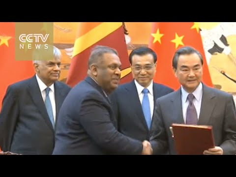 Boosting ties: Sri Lankan prime minister visits China
