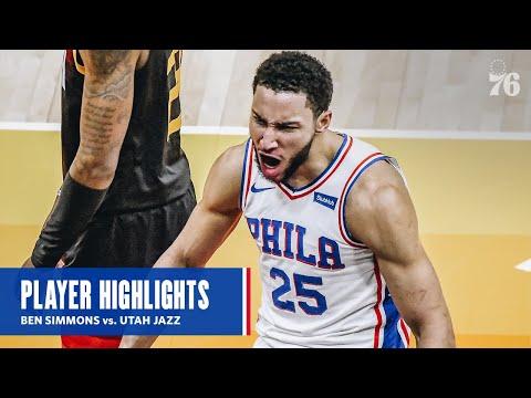 Ben Simmons | HIGHLIGHTS @ Utah Jazz (02.15.21) | presented by IBX