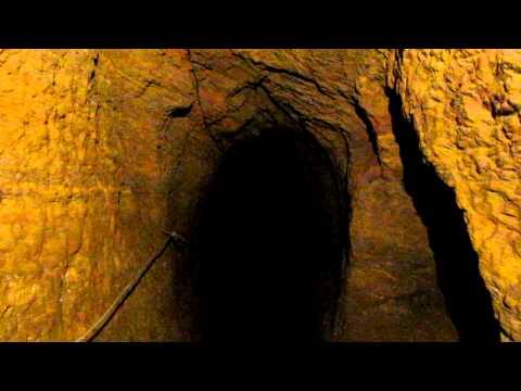 Viaggio all'interno di una miniera d'oro -Ouro Preto-BRASIL