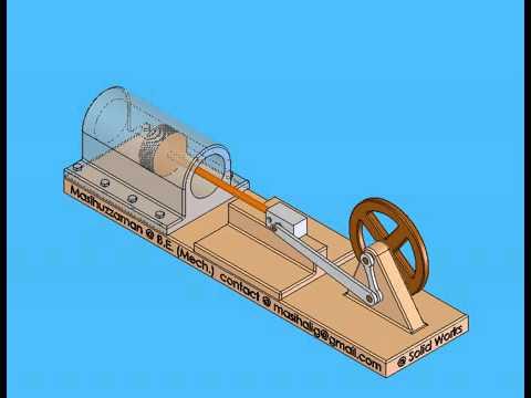 Rotary Linear Linkages - SLIDER CRANK Mechanism 51025