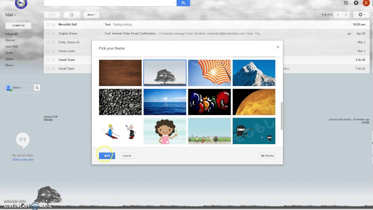 Themes in gmail compose - How To Add A Theme To Gmail