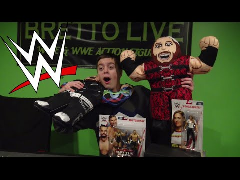 WWE Wrestling Buddies + More Figures
