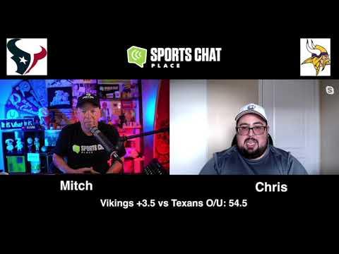 Minnesota Vikings at Houston Texans Sunday 10/4/20 NFL Picks & Predictions Week 4  Sports Chat Place (skip to 37s)