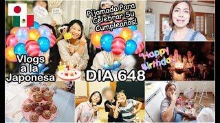 Celebrando El Cumple De Yuri + Pijamada En Casa | JAPON - Ruthi San ♡ 07-10-18