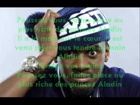 Prince Aladin black m feat. kev'adams (v 1) lyrics