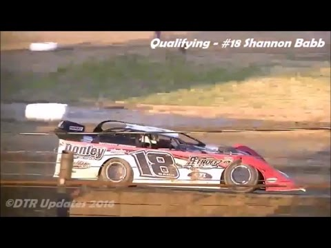 UMP/WoO Late Models Qualifying | Fayette County Speedway | 7.1.16