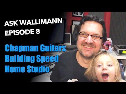 Ask Wallimann: Chapman guitars, time signatures, home studio gear...