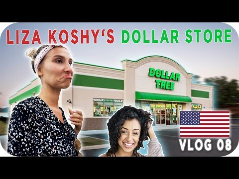 THE DOLLAR STORE mit ANA JOHNSON - LOS ANGELES Daily Vlog #08 | AnaJohnson