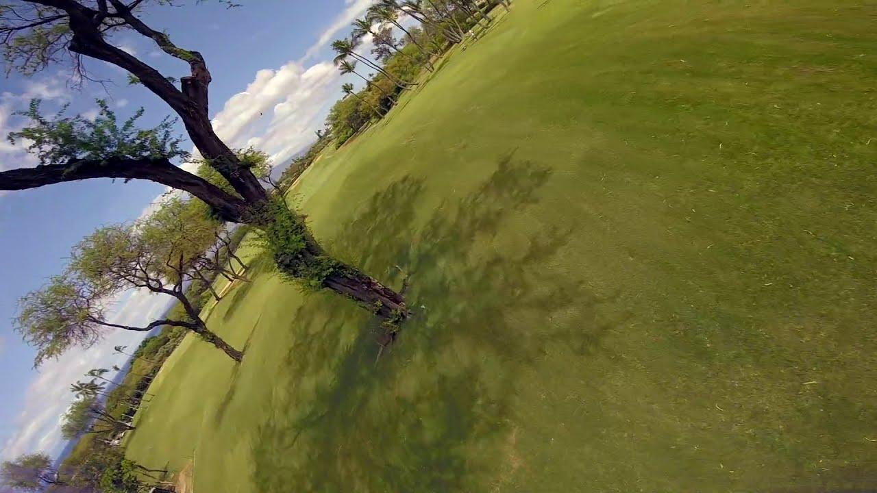 "3"" micro fpv on golfcourse фото"