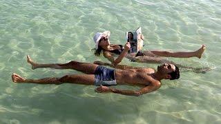 Dead Sea -  Jordan, Palestine, Israel