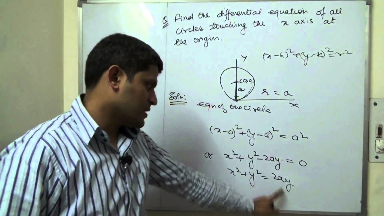 differential equations pdf class 12