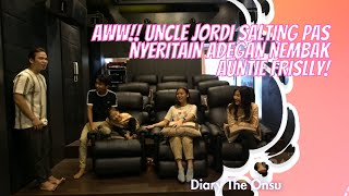 AWW!! UNCLE JORDI SALTING PAS NYERITAIN ADEGAN NEMBAK AUNTIE FRISLLY! | DIARY THE ONSU (28/2/21) P2