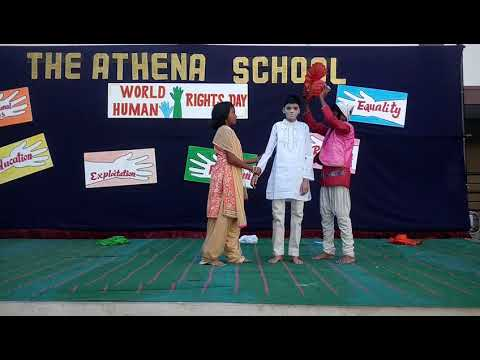 Mime Act on Human Rights Day - Performance by Athenites 2017-18