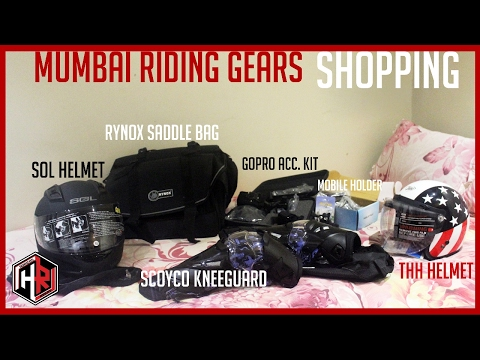 Riding gear shopping || mumbai || amazing logo keychain making within 15 mins