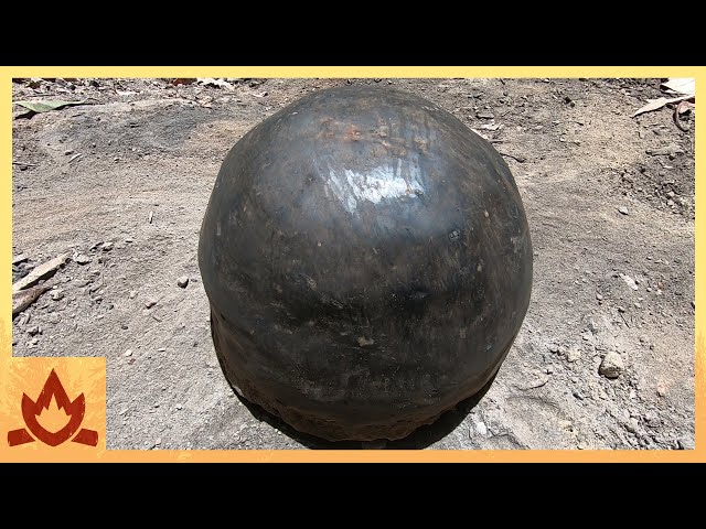 Primitive Technology: Pot Made of Wood Ash - New Clay Alternative