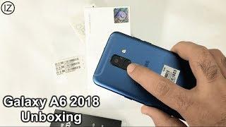 Samsung Galaxy A6 2018 Unboxing & First Look - Blue -  Urdu/Hindi