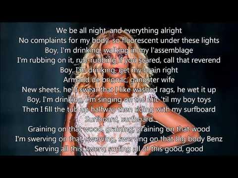 Beyonce - Drunk in love - Karaoke Instrumental