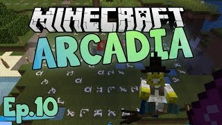 I WANT A BROOM | Minecraft Arcadia | Ep.10