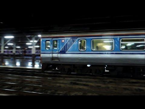 รถไฟไทย # ขบวนรถด่วนพิเศษดีเซลรางที่ 40 สุราษฎ์ธานี - กรุงเทพฯ  State Railway of Thailand