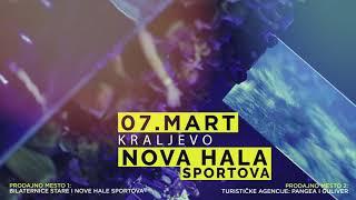 Maya Berović - Pravo vreme - 07.03.2019. Nova Hala Sportova, Kraljevo (Najava koncerta)