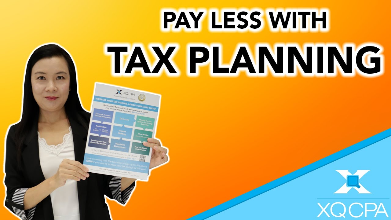 How to Save Money with Tax Planning!