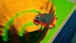 Building Cars Falls Crashes #12   Brick Rigs