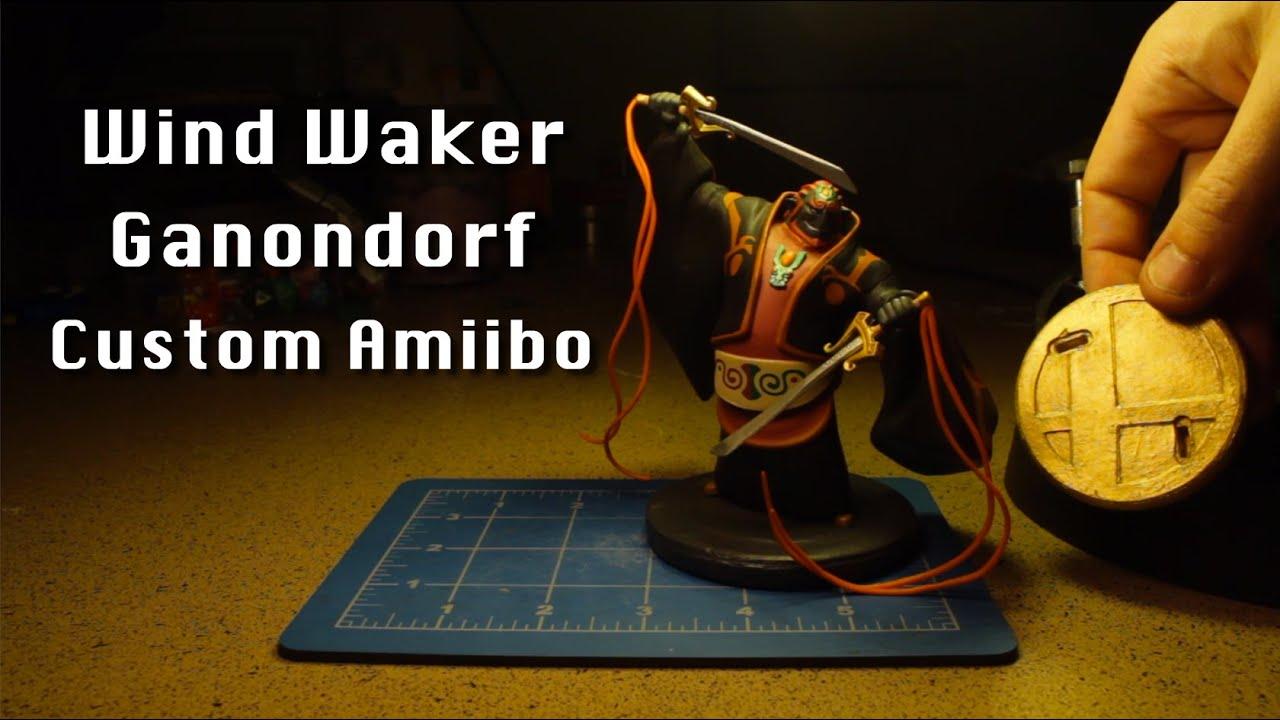 Ready Ward Wind Waker Ganondorf Custom Amiibo