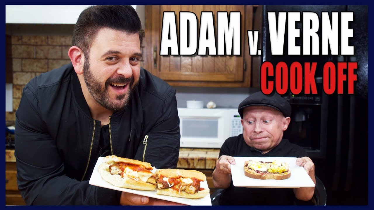 BEST SANDWICH COOK-OFF WITH ADAM RICHMAN | Cooking with Verne - YouTube