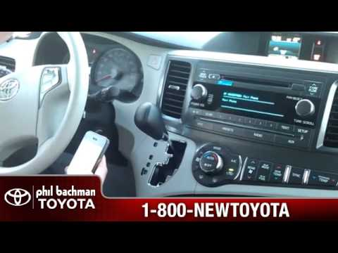 How to pair or add a phone to bluetooth on a 2013 Toyota Sienna Phil Bachman Toyota