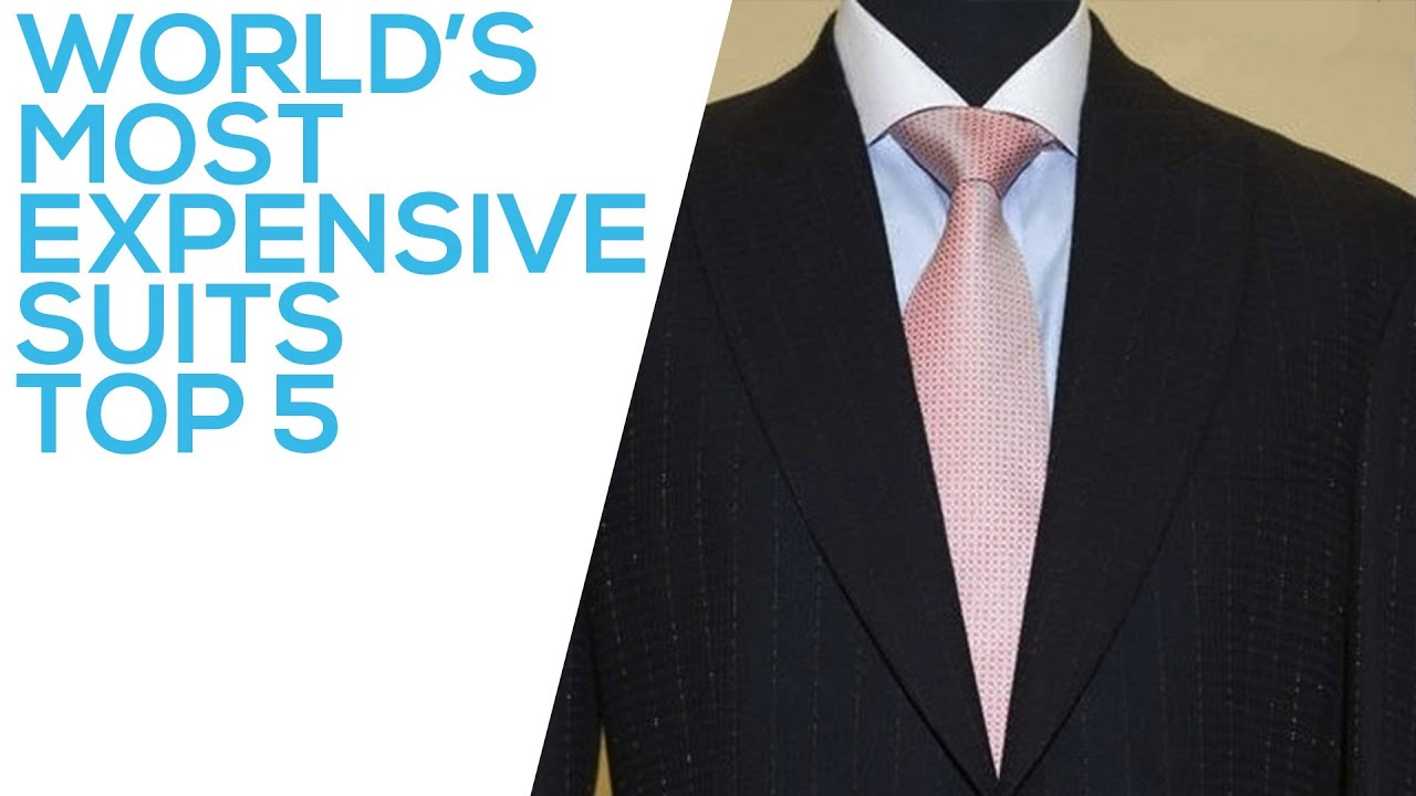 World's Most Expensive Suits | Top 5 - YouTube