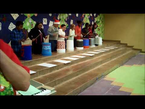 Bucket Drum Christmas Jam 2017 - Barbara B. Robey Elementary School