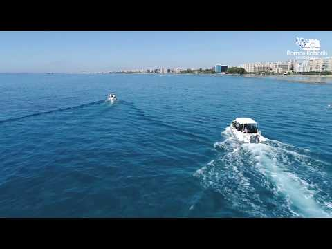 SCUBA cleaning the sea underwater in Limassol with Naytilos