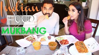 Desi Indian Mukbang (Eating Talking Show) Husband Wife || Indian Mom Vlogger