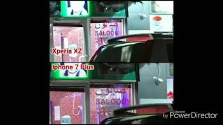 Night - Iphone 7 Plus Vs Xperia XZ