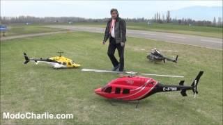 Helicópteros radiocontrolados en aeromodelismo AeroUC 2015