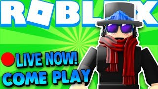 🔴 Roblox Live Stream Sunday Playing Phantom Forces, Shark Bite, MM2, Jail Break & MORE Join Me!