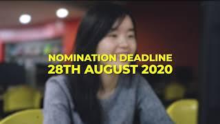Distinguished Alumni Award 2020   Nominations open!