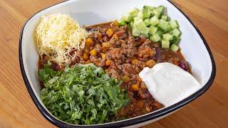 Культовое мексиканское блюдо придется по душе каждому. Чили кон карне