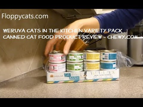 Weruva Cats In The Kitchen Variety Pack Grain-Free Canned Cat Food Product Review And Chewy