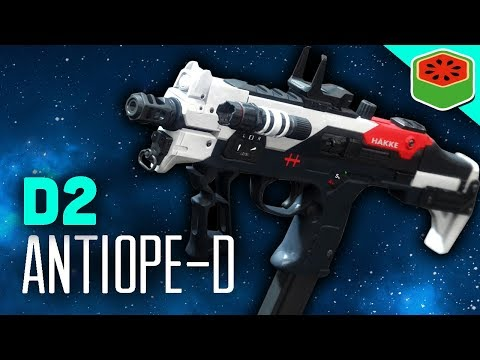 BEST SMG FOR CRUCIBLE - ANTIOPE-D | Destiny 2 Gameplay